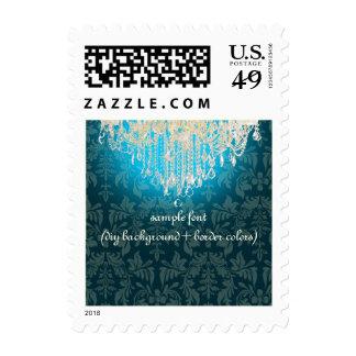PixDezines crystal chandelier/DIY color Stamps