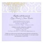 PixDezines Crystal Chandelier+Moiré Damask/purple Custom Invite