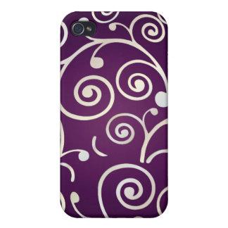 PixDezines Cupcake Swirls, faux pearl+14 colors iPhone 4 Covers