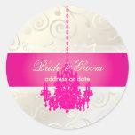 PixDezines Cupcakes Swirls+Hot Pink Chandelier Sticker