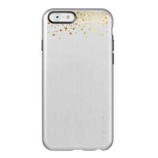 PixDezines dazzled gold specks/silver iphone6 Incipio Feather® Shine iPhone 6 Case