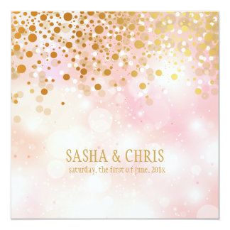 PixDezines dazzled/gold specks/winter soiree Card