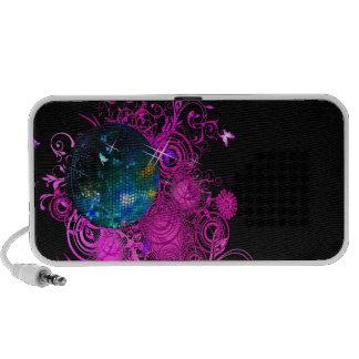 PixDezines Disco Ball ♥♥♥♥ Laptop Speakers