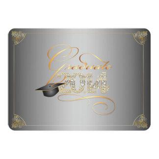 PixDezines diy background/bling 2014 graduation Custom Invitation