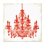 PixDezines diy background color/crystal chandelier Canvas Prints