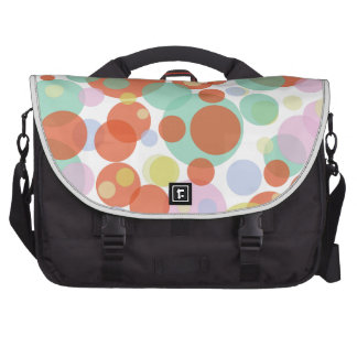 PixDezines diy background color/polka dots Bags For Laptop