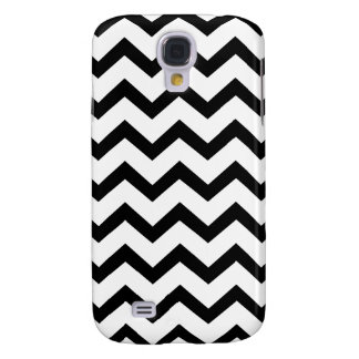 PixDezines diy background color/white chevron Galaxy S4 Case