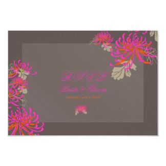 PixDezines diy background/rsvp neon mums Card