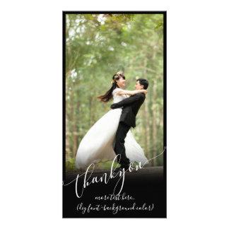 PixDezines DIY background/thank you wedding photo Card