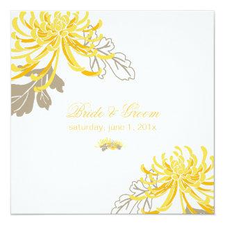 PixDezines diy background/yellow mums Card