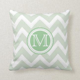 PixDezines diy color chevron/seafoam green Pillows