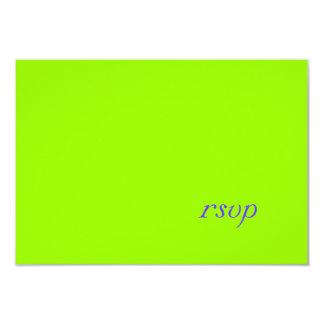 PixDezines DIY color+fonts/rsvp template/lime Invitation