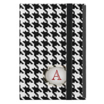 PixDezines diy color/hounds tooth pattern monogram iPad Mini Case