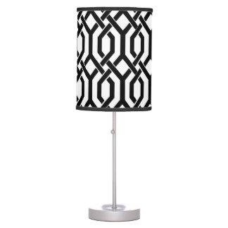 PixDezines DIY color/kew trellis pattern Table Lamp