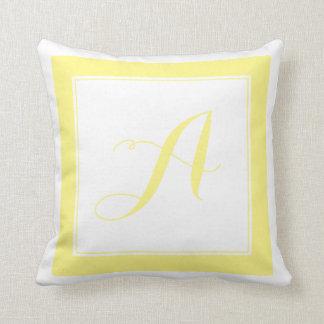 PixDezines DIY color/Monogram Throw Pillow
