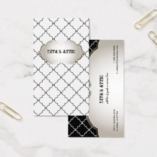 PixDezines diy color/moroccan trellis Business Card