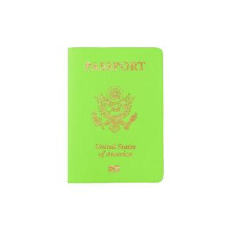 PixDezines DIY color passport covers Passport Holder