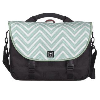 PixDezines diy color/white+chevron Bags For Laptop