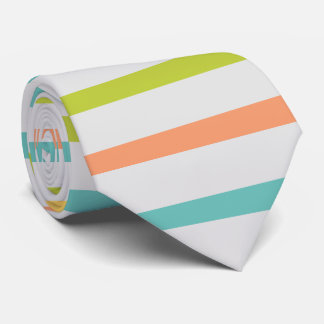 PixDezines diy colors/adjustable stripes Neck Tie