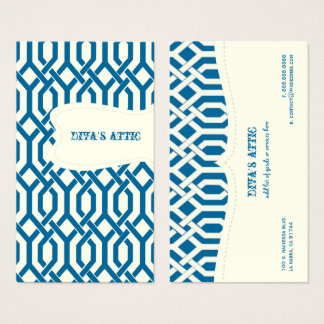 PixDezines diy fonts+color/Kew Trellis Business Card