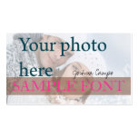 PixDezines DIY photo+fonts Double-Sided Standard Business Cards (Pack Of 100)