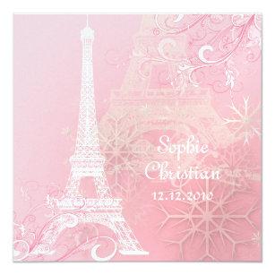 Eiffel Tower Wedding Invitations | Zazzle