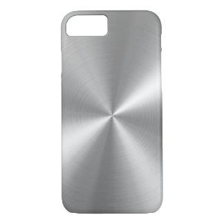 PixDezines faux brushed aluminum iPhone 8/7 Case