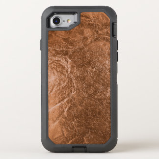 PixDezines Faux Copper Foil OtterBox Defender iPhone 8/7 Case