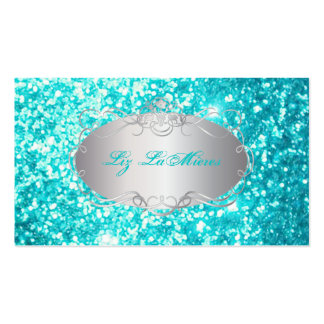 PixDezines faux glitter Double-Sided Standard Business Cards (Pack Of 100)