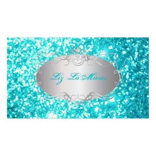 PixDezines faux glitter Business Card Templates