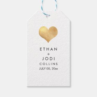 PixDezines Faux Gold Heart/DIY color Gift Tags