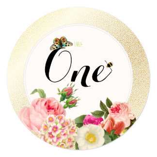 PixDezines faux gold specks/table numbers Card