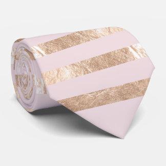 PixDezines faux pink gold/champagne/blush/DIYcolor Neck Tie