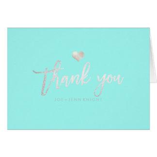 PixDezines Faux Silver Heart/Thank You/DIY color Card