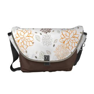 PixDezines floral Courier Bags