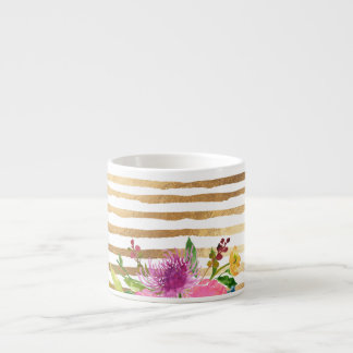PixDezines floral/watercolor/ranunculus Espresso Cup