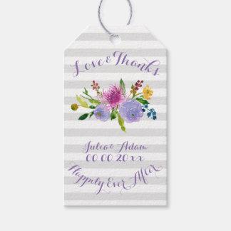 PixDezines floral watercolor/ranunculus Gift Tags