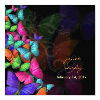 PixDezines Fluttering By/Neon color/DIY background Card