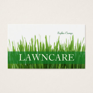 PixDezines fresh grass/gardener/DIY fonts Business Card