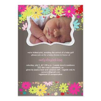 PixDezines garden/birth announcement/shower Card