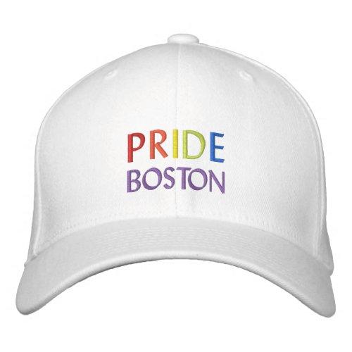PixDezines Gay Pride Rainbow Color DIY City Embroidered Baseball Cap
