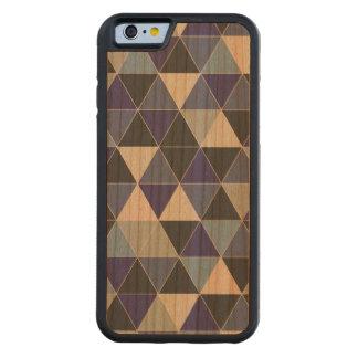 PixDezines geometric/blue hyde Carved Cherry iPhone 6 Bumper Case