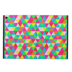 Pixdezines Geometric/neon Colors Ipad Air Cover at Zazzle