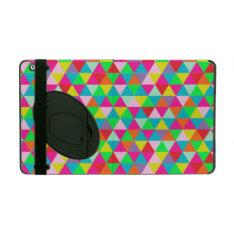 Pixdezines Geometric/neon Colors Ipad Folio Case at Zazzle