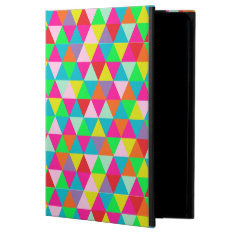 Pixdezines Geometric/neon Colors Powis Ipad Air 2 Case at Zazzle
