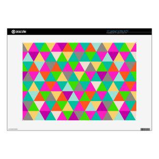 PixDezines geometric/neon colors Skins For Laptops