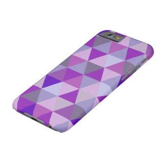 PixDezines geometric/purple/blue hyde Barely There iPhone 6 Case