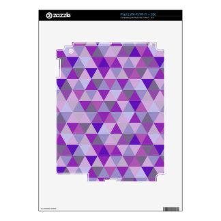 PixDezines geometric purple hyde iPad 2 Decals