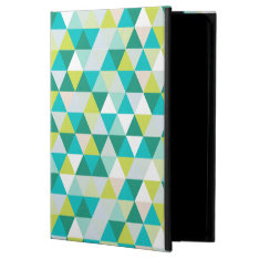 Pixdezines Geometric Teal Green Powis Ipad Air 2 Case at Zazzle