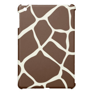 PixDezines Giraffe , Brown Cover For The iPad Mini